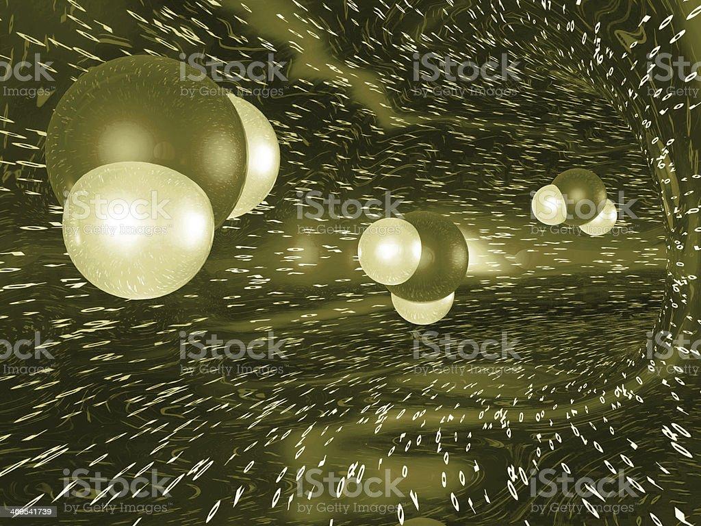 Molecules stock photo