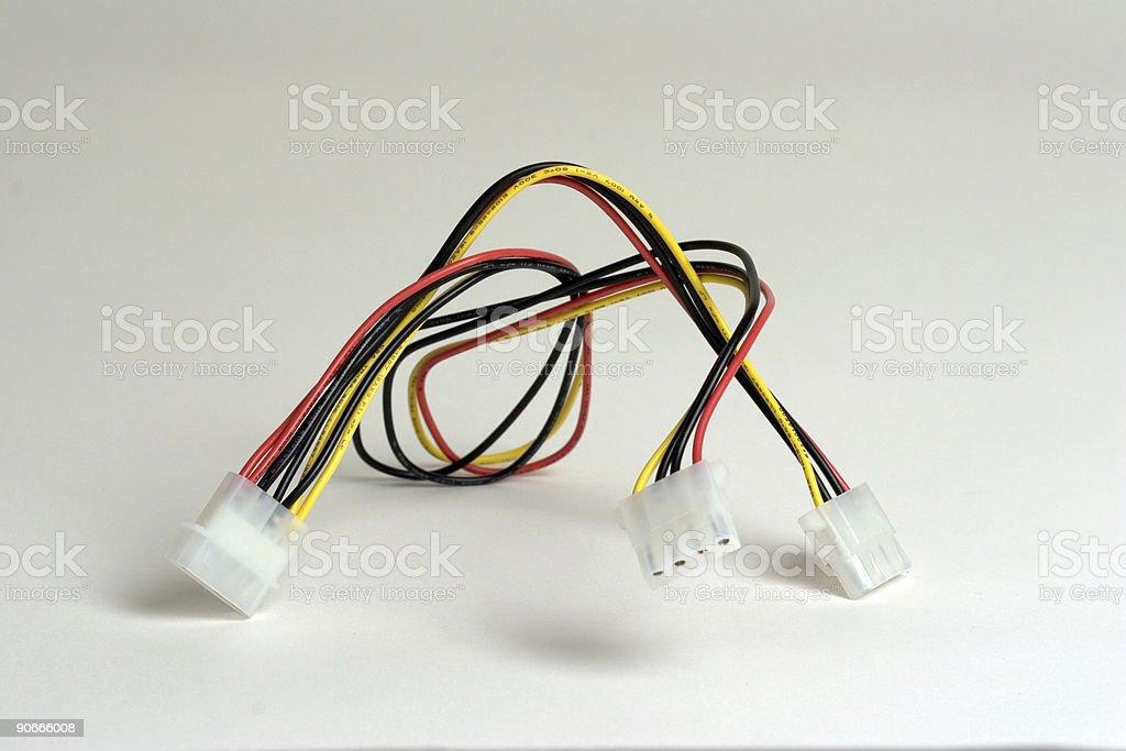 Molex Cable stock photo