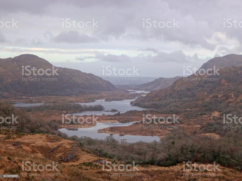 Molls Gap, Co Kerry, Ireland. stock photo