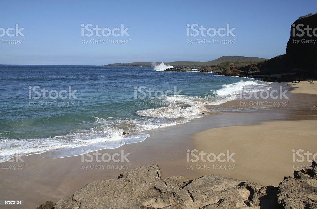 Molokai bord de plage à Hawaï photo libre de droits