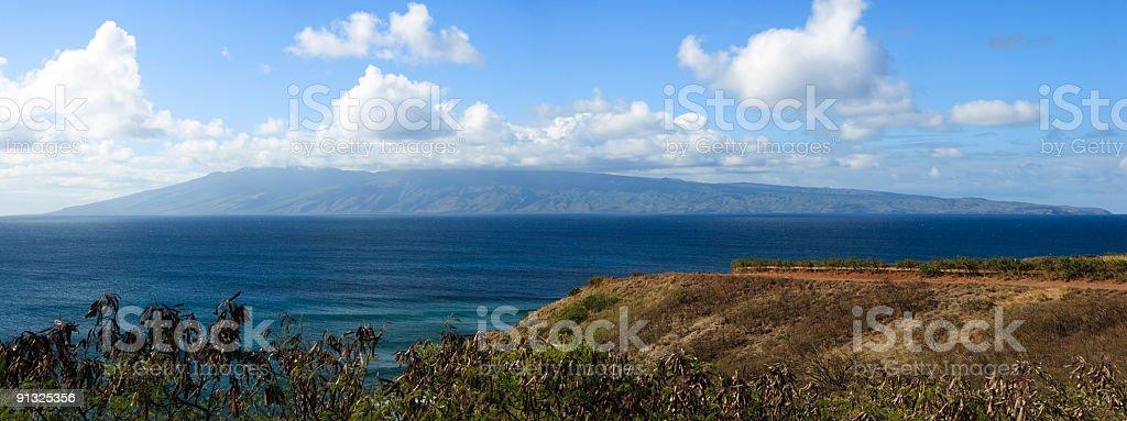 Moloka'i Panorama royalty-free stock photo