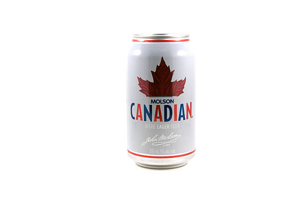 Molson Canadian stock photo