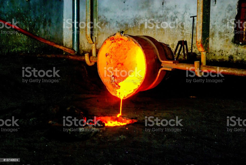 Flüssige Metall – Foto