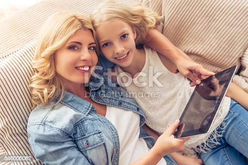 istock Mom and daughter 546005082