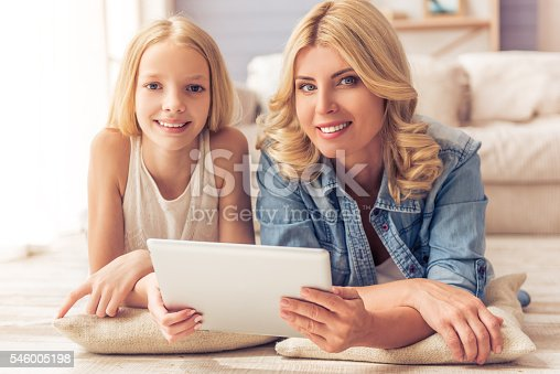 istock Mom and daughter 546005198