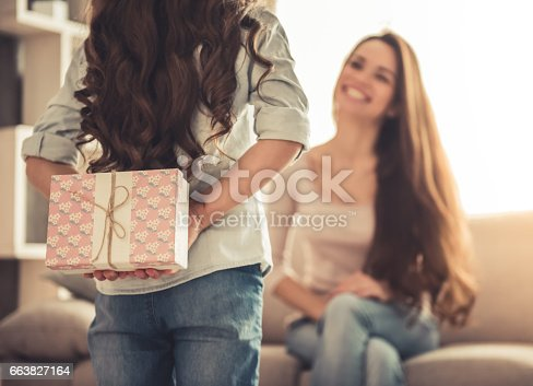 istock Mom and daughter 663827164