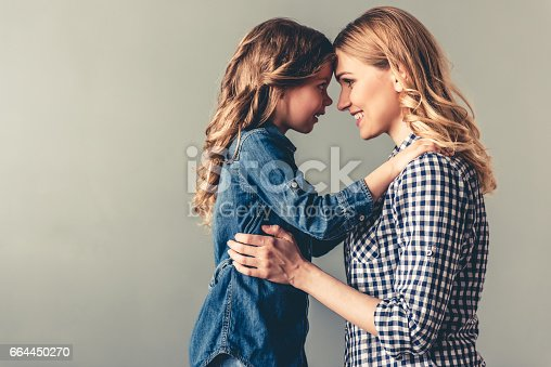 istock Mom and daughter 664450270