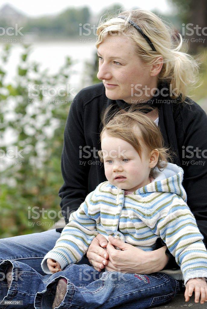 母と娘 ロイヤリティフリーストックフォト
