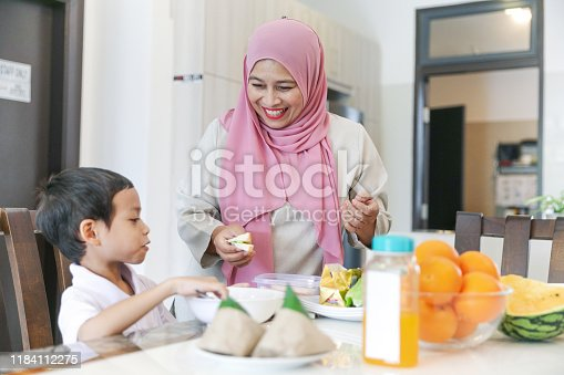 1151176639 istock photo Mom and kids preparing to go to school 1184112275