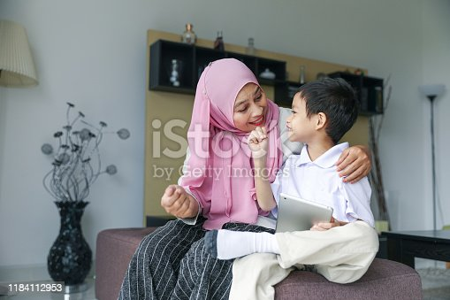 1151176639 istock photo Mom and kids preparing to go to school 1184112953