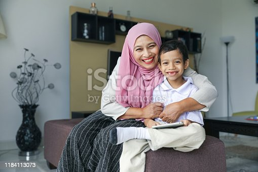 1151176639 istock photo Mom and kids preparing to go to school 1184113073