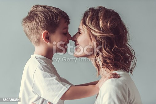 istock Mom and son 680239054