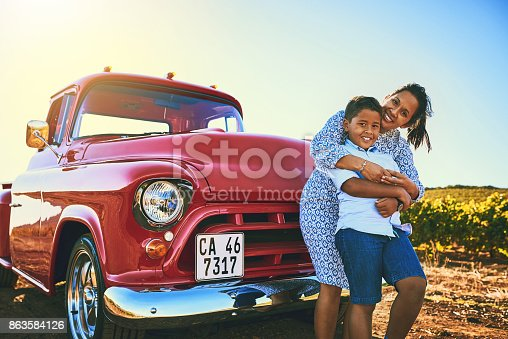 istock Mom and son spending some time together 863584126