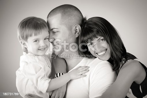 525959168 istock photo Mom dad and son 180731789