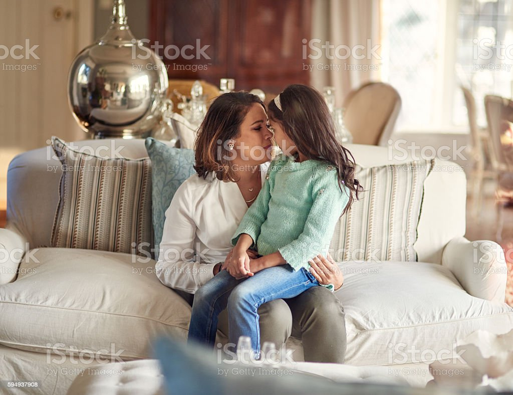 Mom Is Another Word For Love Stock Photo - Download Image ...