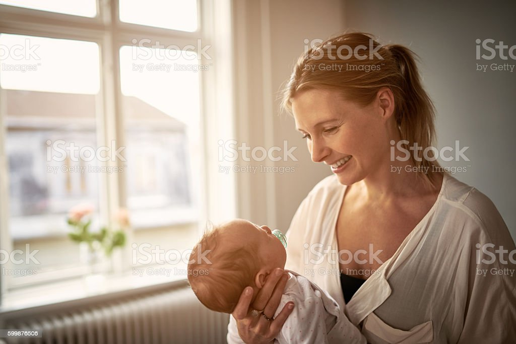 Mom is another word for love stock photo