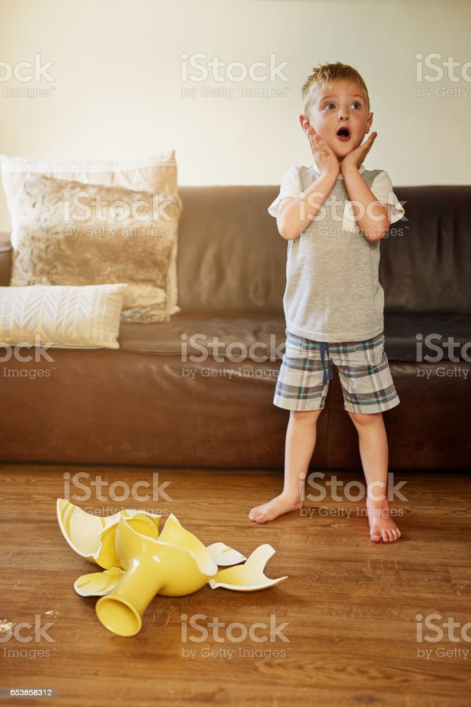 Mom is going to be so mad about this stock photo