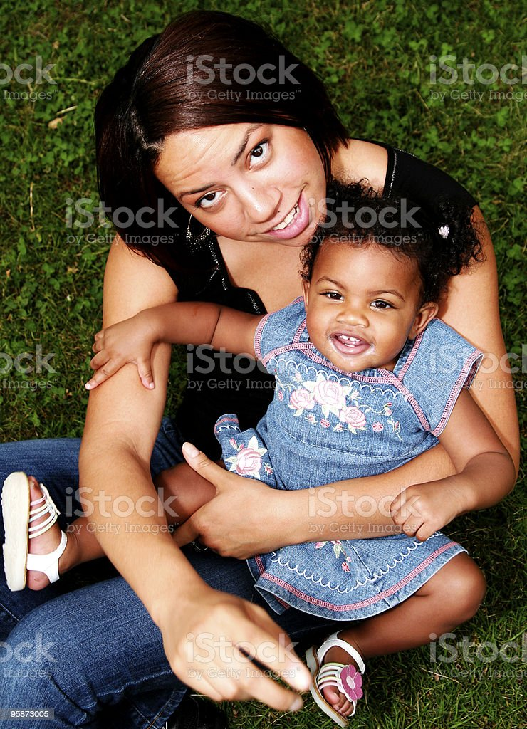 mom (a portrait) royalty-free stock photo