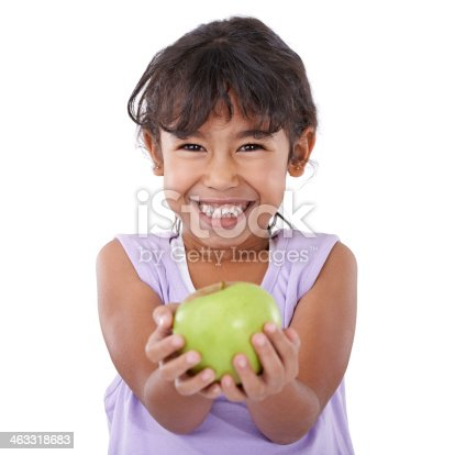 istock Mom says this will keep me strong and healthy 463318683