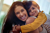 istock Mom, the best friend a boy could ever have 947121666