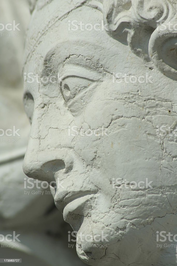 Moment kept for centuries royalty-free stock photo