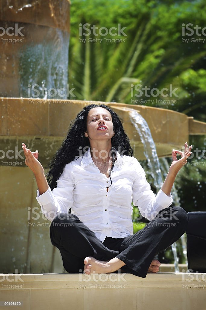 Moment Of Relaxation royalty-free stock photo