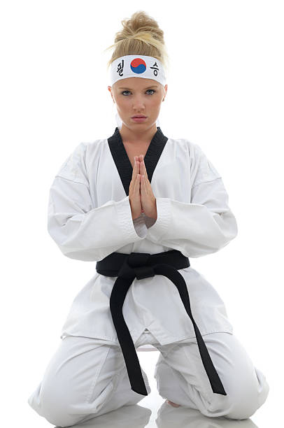 moments of focus - martial arts gerville stock pictures, royalty-free photos & images