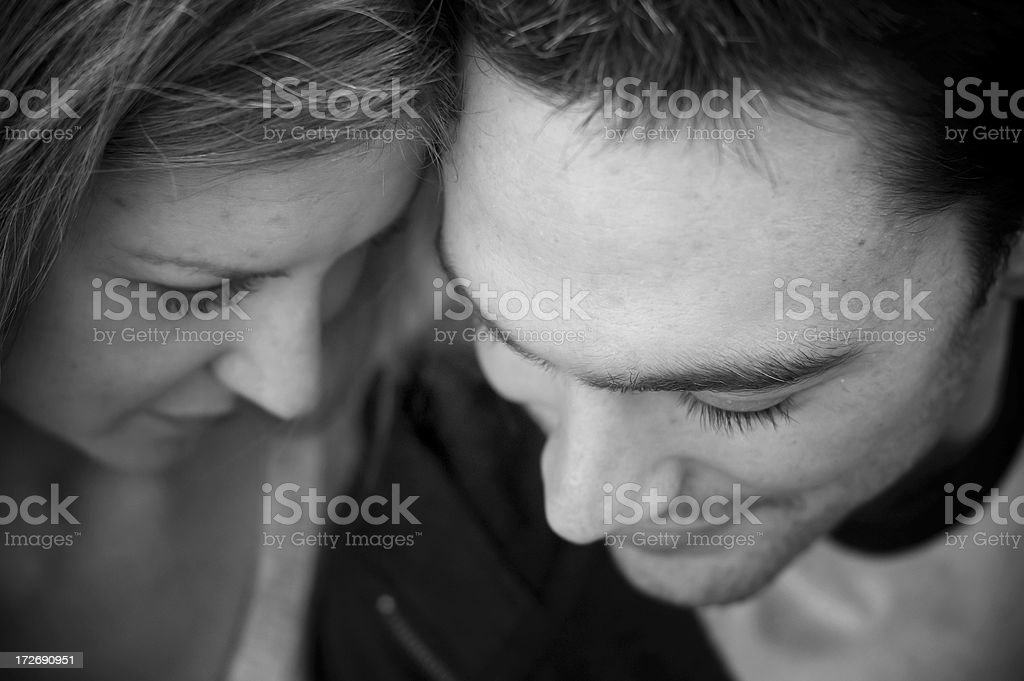 Moments together royalty-free stock photo
