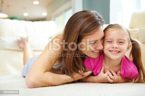 istock Mommy you're tickling me 184939545
