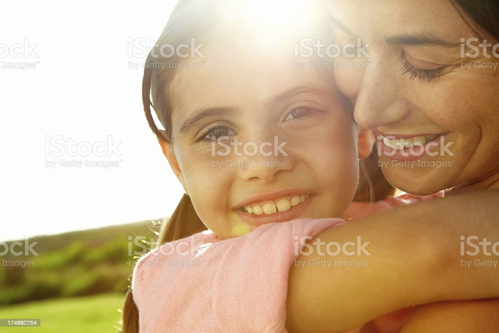 Mommy's angel royalty-free stock photo