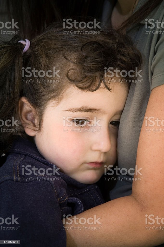 Mommy's Comfort (series) royalty-free stock photo
