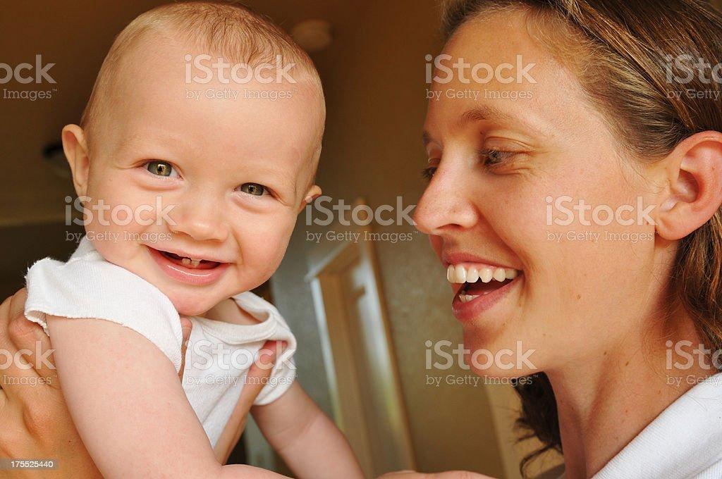 Mommy's Precious royalty-free stock photo