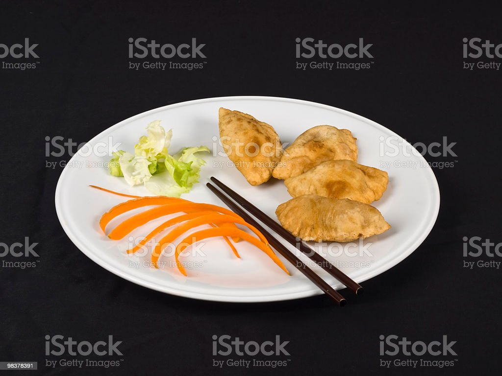 momo with vegetables royalty-free stock photo