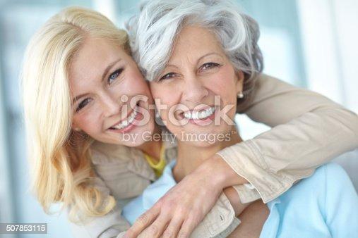 istock Mom's my best friend 507853115