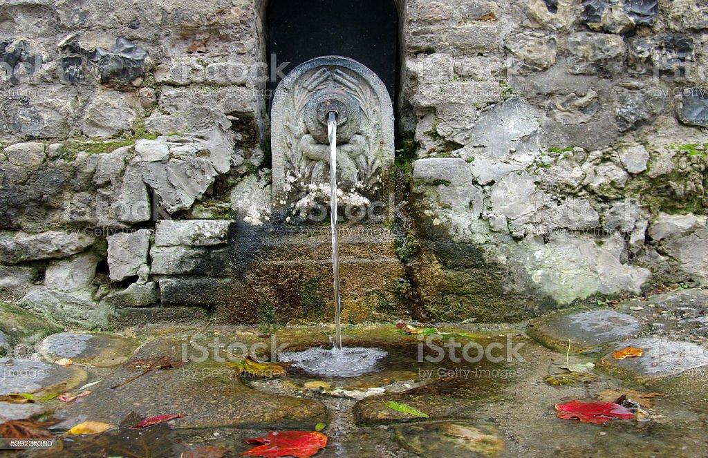 Momumental water spring royalty-free stock photo