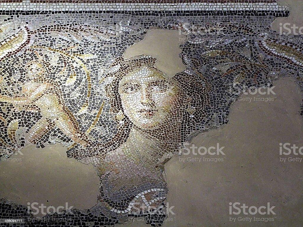 Mona Lisa of the Galilee. Zippori. Israel stock photo