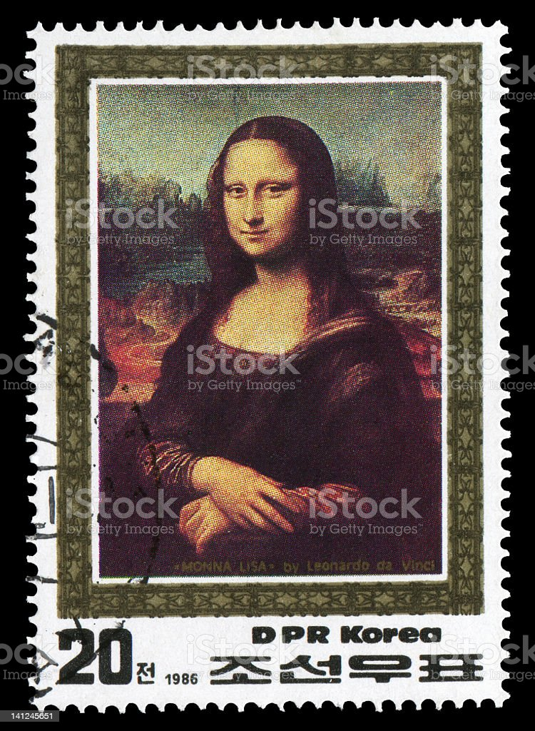 Mona Lisa (XXXLarge) stock photo