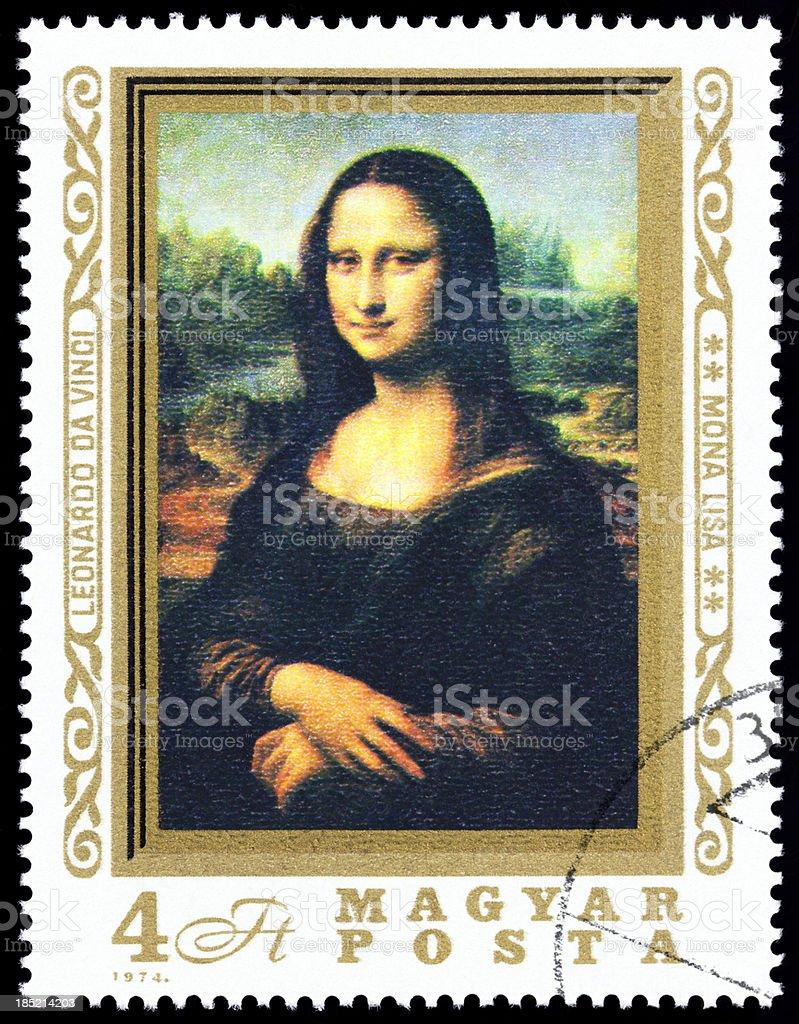 Mona Lisa stock photo