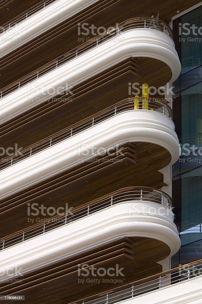 Monaco Architecture royalty-free stock photo