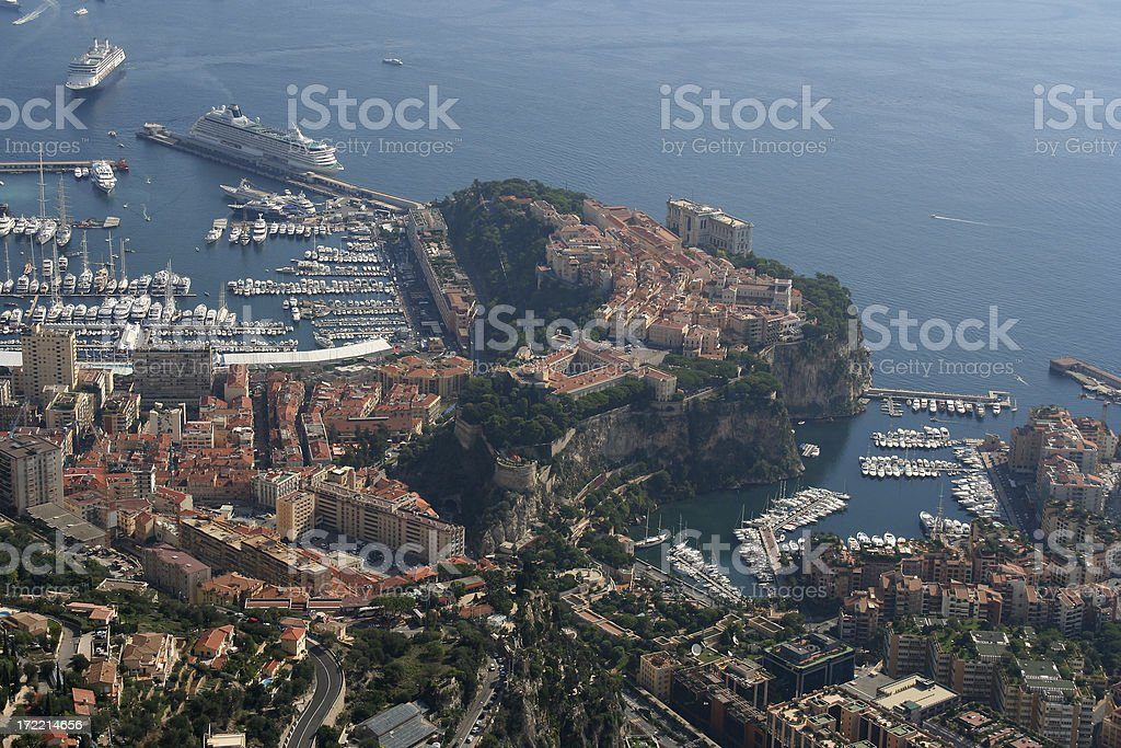 Monaco Castle royalty-free stock photo