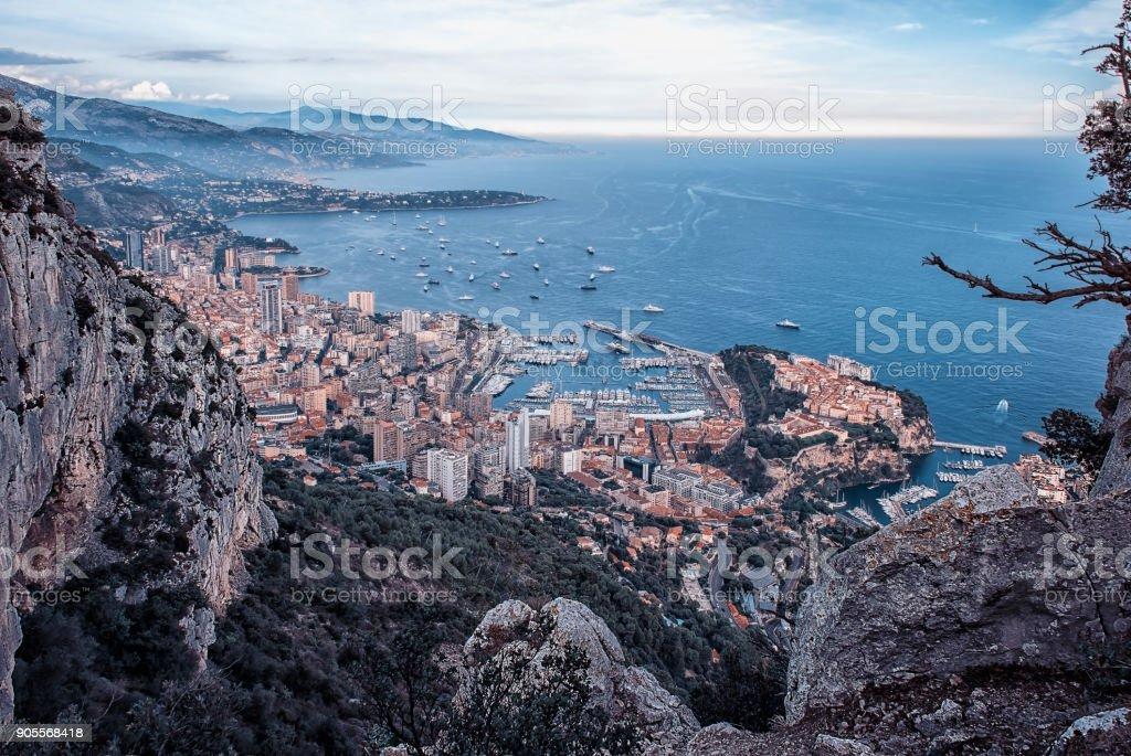Monaco Monte Carlo in daytime stock photo
