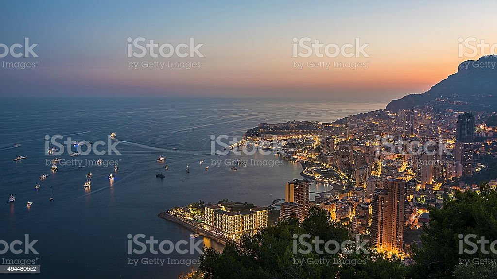Monaco Monte Carlo stock photo