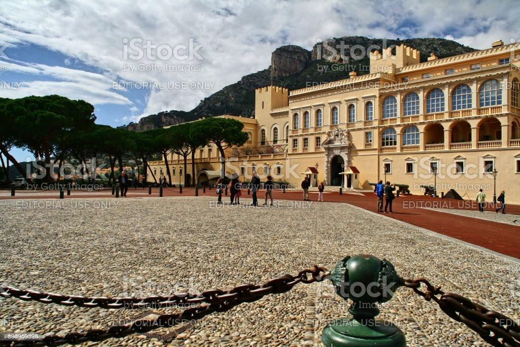 Monaco, Monte Carlo, Prince´s Palace, 26.03.2017, stock photo