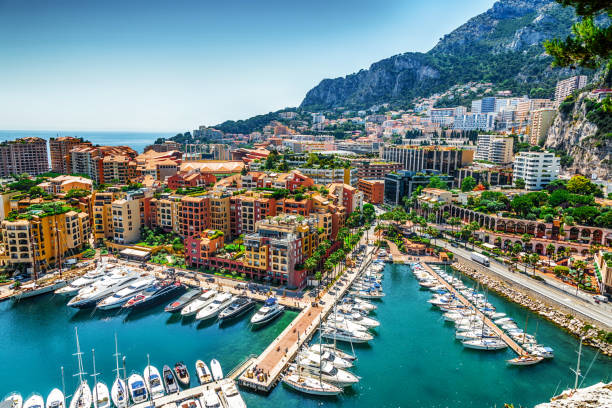 Monaco Monte Carlo Meerblick – Foto