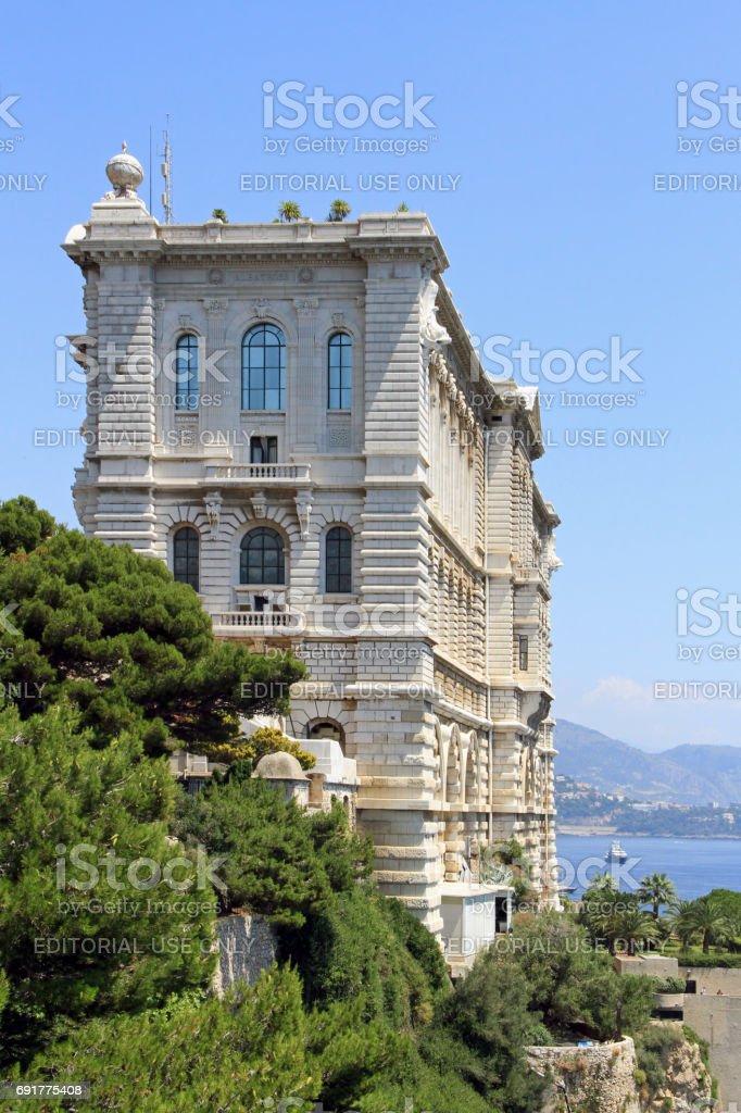 Monaco: Oceanographic Museum stock photo