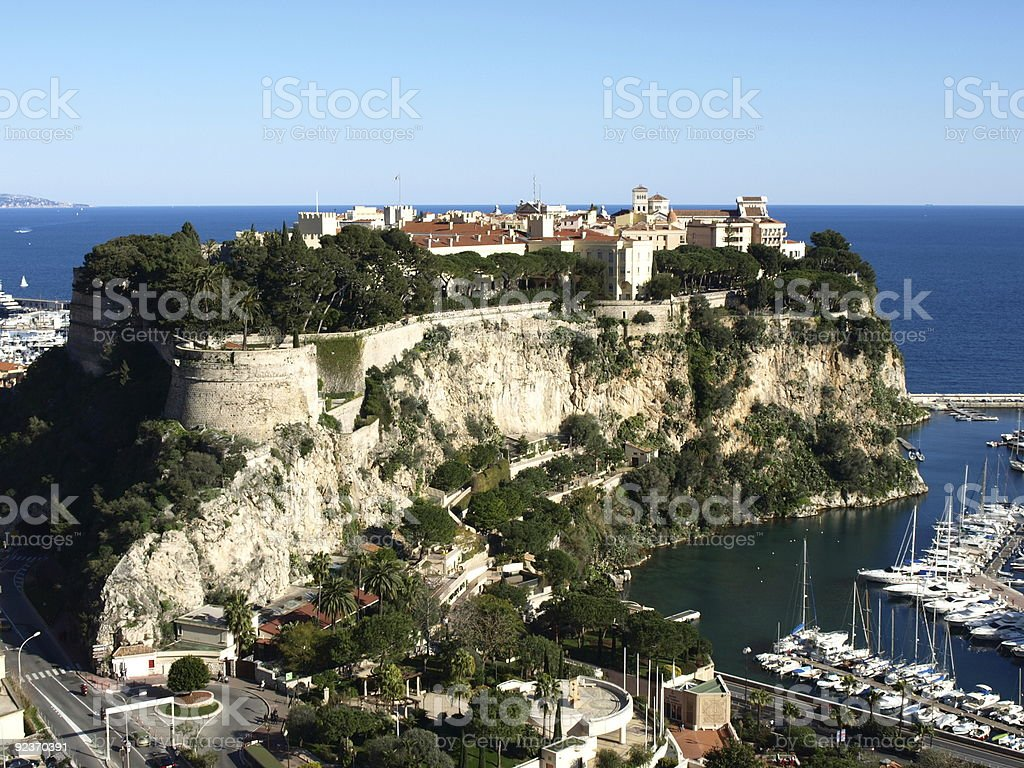 Monaco palace royalty-free stock photo