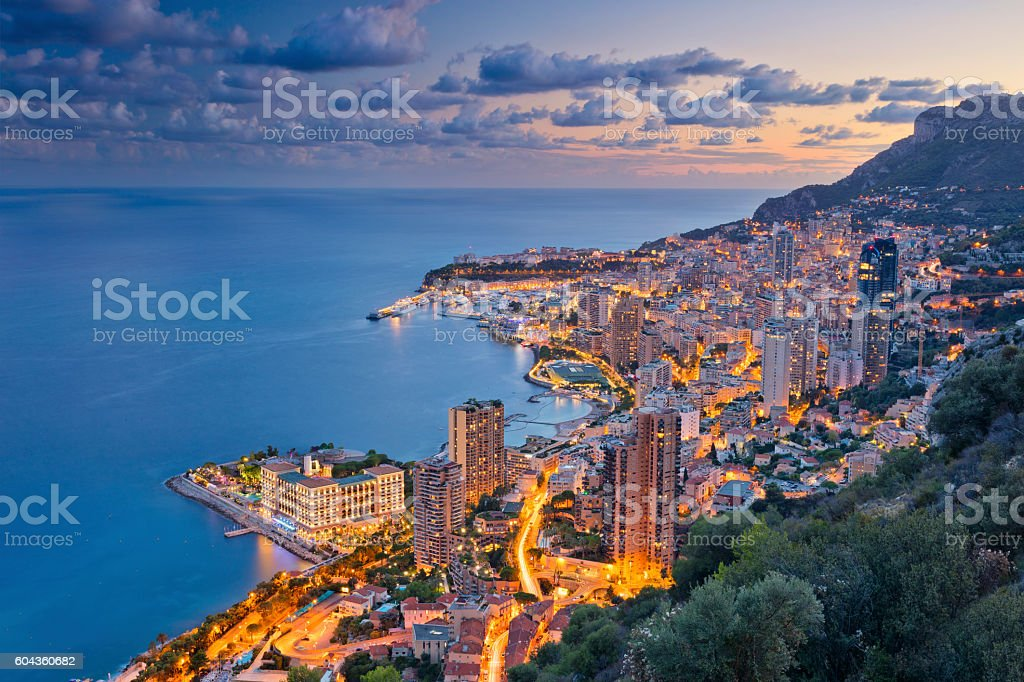 Monaco. stock photo