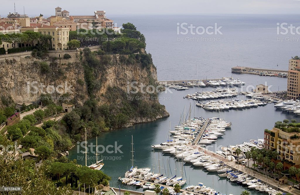 Monaco royalty-free stock photo