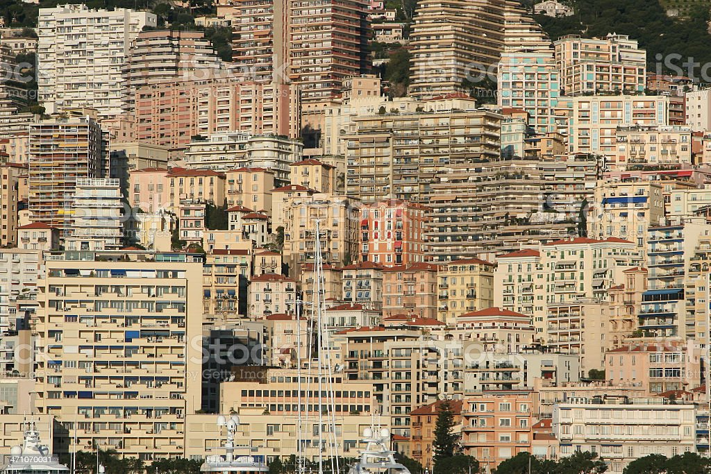 Monaco - Skyline royalty-free stock photo