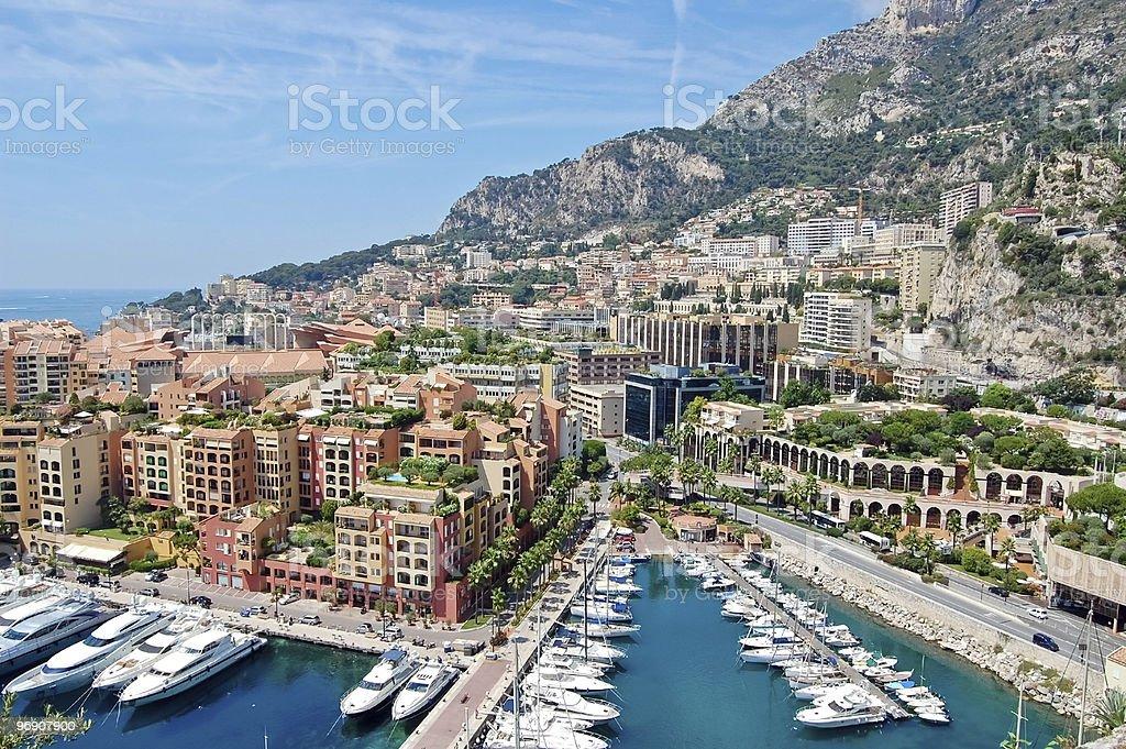Monaco view royalty-free stock photo